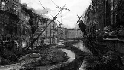 Flood Town 01