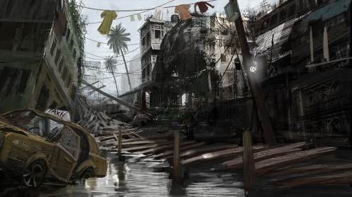 Flood Town 07