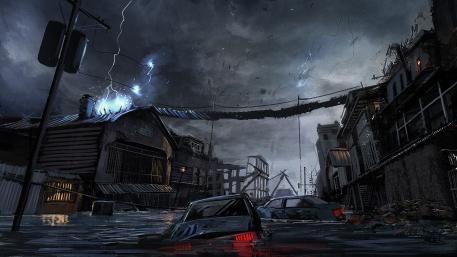 Flood Town 08